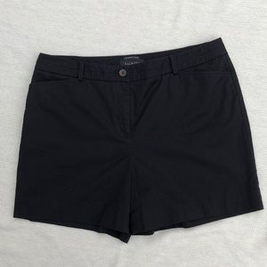 "NWOT Talbots ""The Perfect Short"" Black Short"